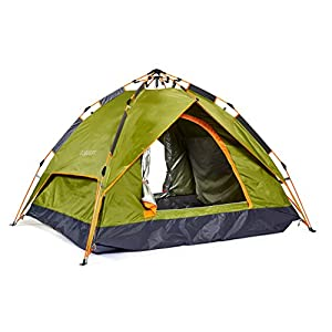 Instant Dome Tent by ECOdept - Pitch Fast with u0027Pop Upu0027 Design - Dual  sc 1 st  Outdoor Recreation & Best Backpacking Tent Under 100 | What is the best Best ...