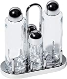 Alessi 5070 4 Piece Condiment Set 4, Silver
