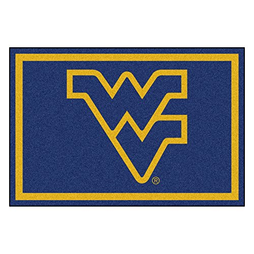 (West Virginia University Mascot Area Rug (4 ' x 6'))