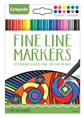 Crayola 58 7713 Fineline Markers Vibrant