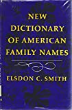 New Dictionary Amer Fam Name