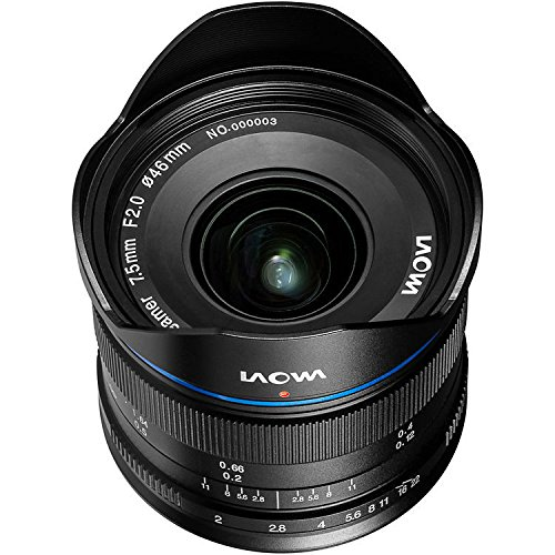 laowa ve7520mftstblk–7.5mm Lens for Micro 4/3Cameras (16.9MP, HD 720p) Black by LAOWA (Image #2)