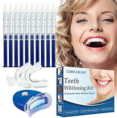 Kit de Blanqueamiento Dental,Kit de Blanqueamiento de Dientes,Gel Blanqueador de Dientes,Teeth Whitening Kit,Blanqueamiento Dientes: Amazon.es: Salud y cuidado personal