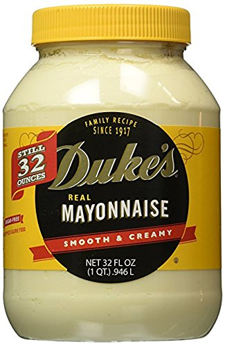 Duke's Real Mayonnaise, 32 oz (Pack of 2) by Duke's