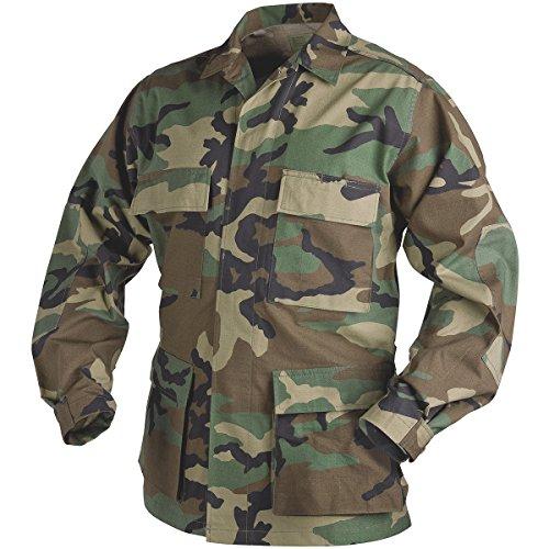 Woodland Camo Bdu Shirt - 1