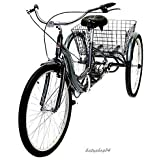 """26"""" Schwinn Meridian Adult Tricycle in Cherry, Blue, Silver, or Mint Green"""