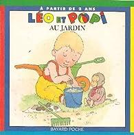Léo et popi au jardin par Marie-Agnès Gaudrat
