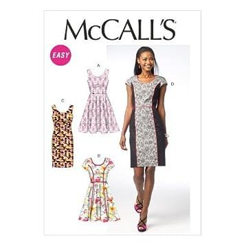 McCall Pattern Company M6887 Misses \'Kleider nähen Vorlage, Größe A5 ...