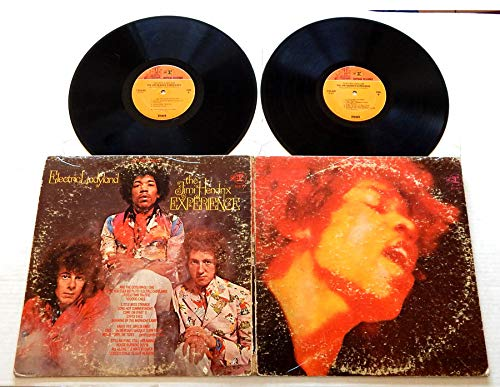 The Jimi Hendrix Experience ELECTRIC LADYLAND - Reprise Records 1968 - USED DOUBLE Vinyl LP Record Album - 1968 Pressing - Crosstown Traffic - Voodoo Child (Slight Return) - All Along The Watchtower (The Jimi Hendrix Experience Electric Ladyland Vinyl)