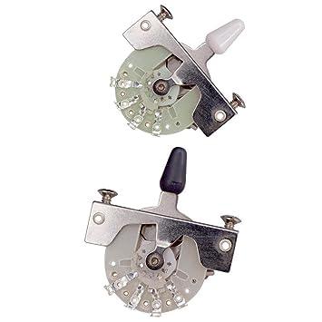 MagiDeal Selector de Palanca Interruptor de Palanca 3/5 Maneras para Guitarra Eléctrica: Amazon.es: Instrumentos musicales