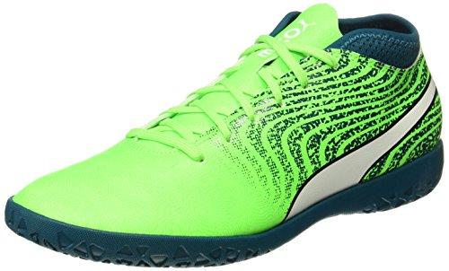 Chaussures 18 Lagoon deep White One 4 Green IT Vert Gecko Football Homme de Puma puma 1qBICx