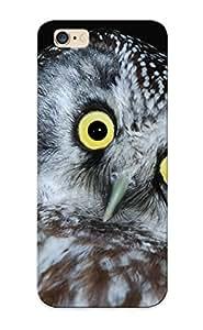 Blackducks High Quality Shock Absorbing Case For Iphone 6 Plus-owl Bird Head