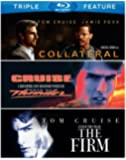 Tom Cruise Triple Feature (Collateral / Days of Thunder / The Firm) [Blu-ray]