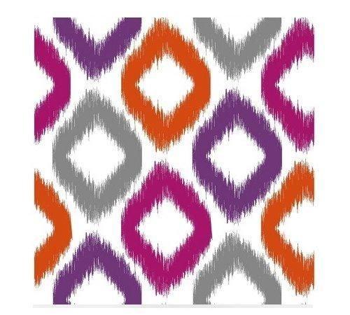 Devine Color Scroll Wallpaper - Ikat - Covers 27.5 Sq Ft (20