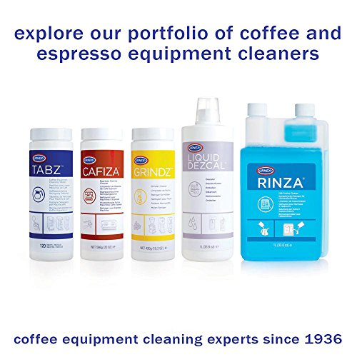 urnex cafiza espresso machine cleaning tablets 100 tablets