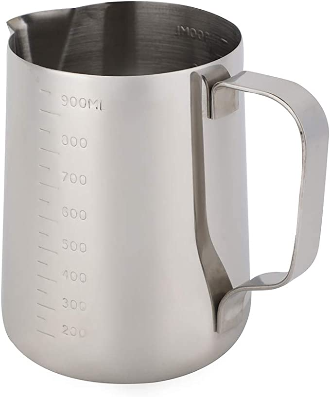 Excelity 2.5-Cup//500ml Glass Milk Cups Measuring Cups Coffee Milk Frothing Pitcher