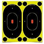 Birchwood Casey Shoot-N-C 7-Inch Silhouette Target, Pack of 12