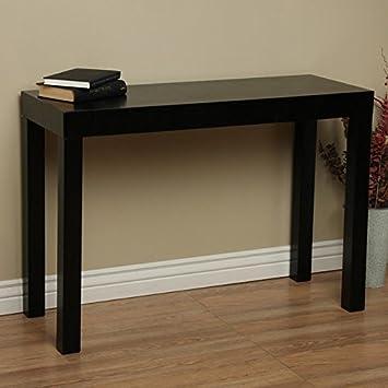 Amazon.com: Lachlan Negro Brillante sofá mesa: Kitchen & Dining