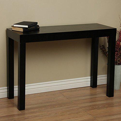 Lachlan Glossy Black Sofa Table
