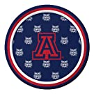Pack of 96 NCAA Arizona Wildcats Round Tailgate Party Paper Plates 7""