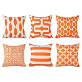 Top Finel Decorative Throw Pillows Cushion Covers Square...