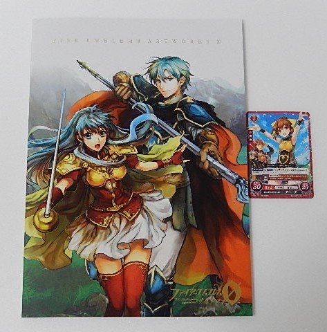 Fire Emblem 0 cipher artworks artbook illustration11 XI Delthea promo Festival