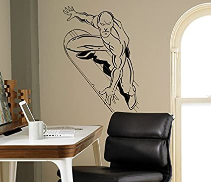 Amazon Silver Surfer Wall Decal Comics Superhero Vinyl Sticker