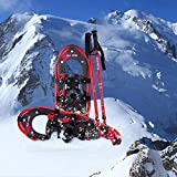 FLASHTEK 21 Inches Snowshoes for Men and
