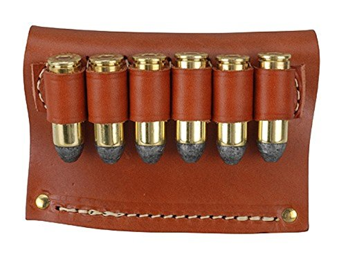 Hunter 0645 6 Loop Belt Slide - .45 Cal, Brown