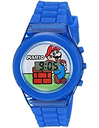 Boys' Quartz Watch with Plastic Strap, Blue, 17 (Model: GMA3002