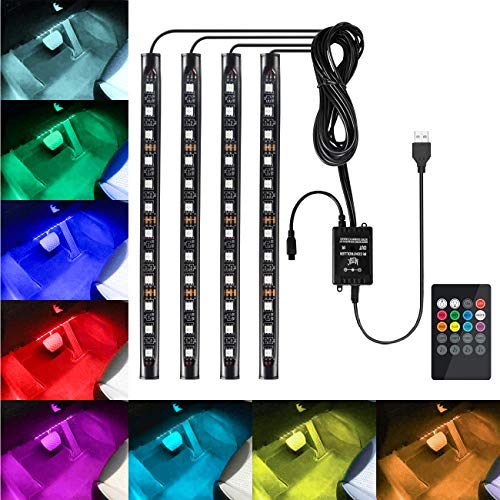 Led Interior Ambient Light Kit With Eight Colors in US - 5