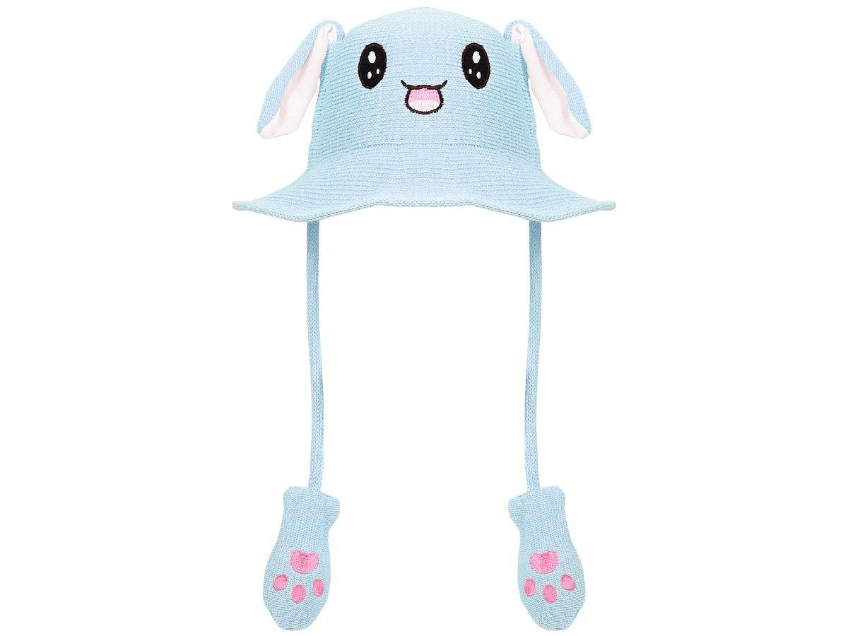 Cappello con Orecchie che si muovono Animale Divertente Cappello da Sole con Orecchie Mobili per Bambini e Adulti Beige Estivo