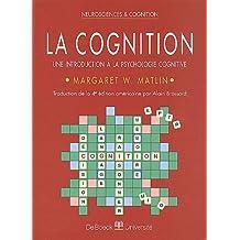 Cognition (la) intro. psycho. cogni