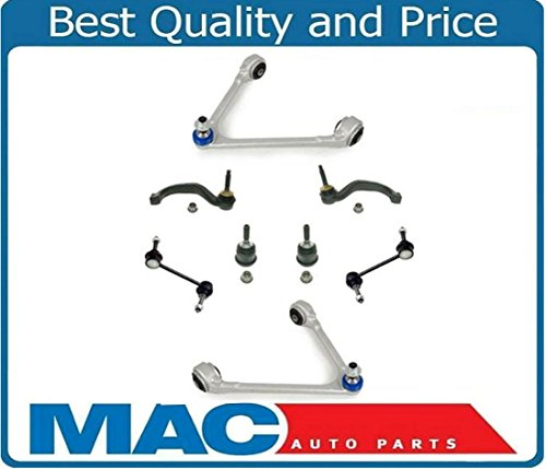 Upper Control Arms Ball Joints Tie Rod Ends Stabilizer Links for LS S-Type 03-06
