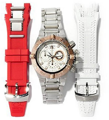 Invicta Subaqua IV Interchangeable Chronograph Ladies Watch 11347