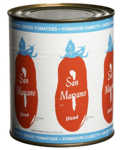 San Marzano, Diced Tomatoes, 28 oz