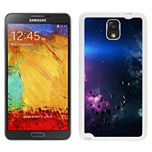 NEW Unique Custom Designed Samsung Galaxy Note 3 N900A N900V N900P N900T Phone Case With Space Asteroids Belt Purple_White Phone Case
