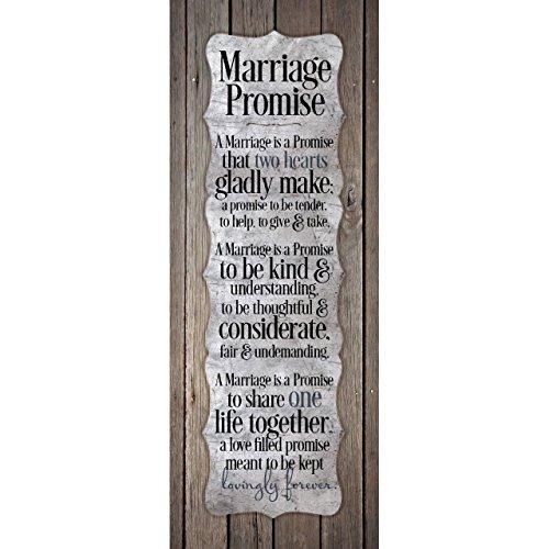 (Dexsa Marriage Promise.New Horizons Wood Plaque)