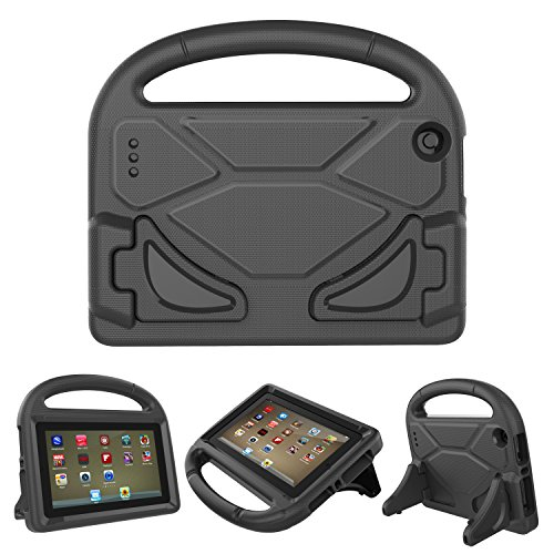Vanskye Kids Case for All-New F i r e 7 Tablet Case, F i r e 7 2017 Case – Light Weight Shock Proof Handle Kid-Proof…