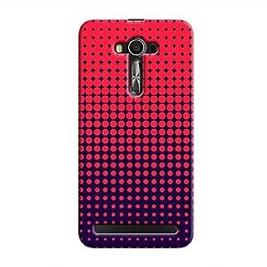 Cover It Up - Orange Funk Spots Zenfone 2 ZE550ML/ZE551MLHard Case