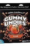 Edible Male Gummy Undies - Peach