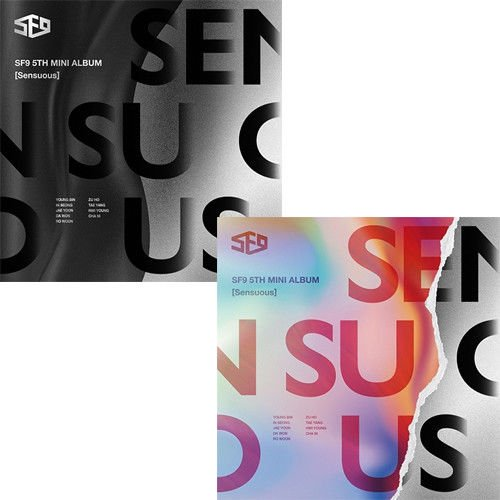 SF9 [SENSUOUS] 5th Mini Album HIDDEN/EXPLODED 2Ver SET+POSTER+P.Book+Card SEALED by SF9 [SENSUOUS] 5th Mini Album HIDDEN/EXPLODED 2Ver SET+