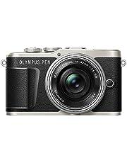 Olympus PEN E-PL9 Kit, Micro Four Thirds Systemkamera und M.Zuiko Digital ED 14-42 mm F3.5-5.6 EZ Zoomobjektiv, schwarz/silber