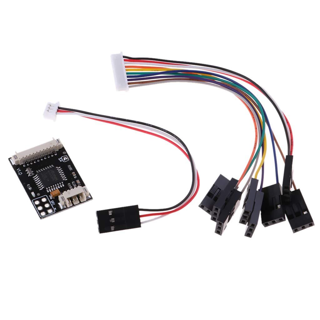 Codificador PPM Encoder Controlador de Vuelo de Drone RC Reparar