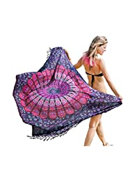 Boho Chic Pareo - Mandala Pareo - Bikini Swimsuit Cover Up- Beach Dress - Wrap