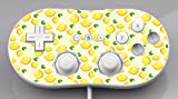 Lemon Lemon Lemons and More Lemons Pattern Wii Classic Controller Vinyl Decal Sticker Skin by Moonlight Printing