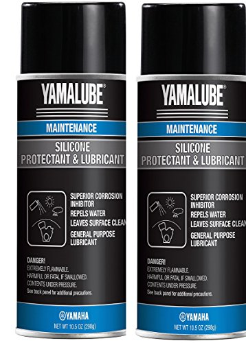 Yamaha ACC-SLCNS-PR-AY Silicone Spray Protectant & Lubricant, Pack of 2 ()