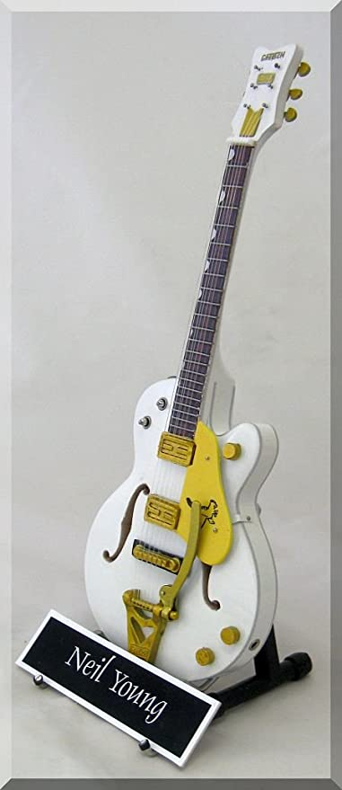 Neil Young miniatura Guitarra Gretsch Falcon personalizable con ...
