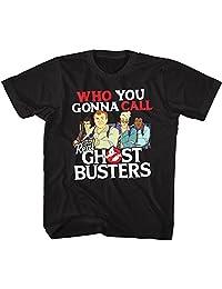 American Classics The Real Ghostbusters TV Series Call Em Black Youth Big Boys T-Shirt Tee