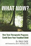 img - for What Now?: How Teen Therapeutic Programs Could Save Your Troubled Child book / textbook / text book